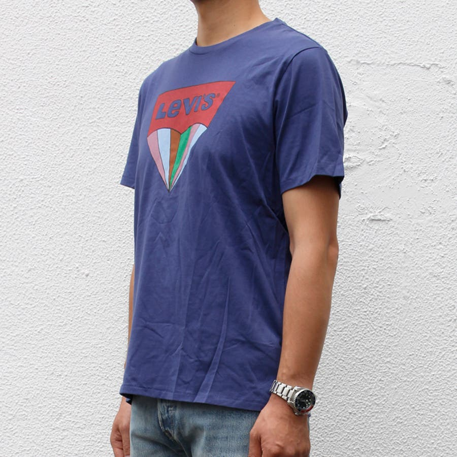 リーバイス メンズ Tシャツ LEVIS 22489 ハウスマーク グラフィック TEE 半袖 プリント 大きいサイズ 小さいサイズ春 夏 | かっこいい おしゃれ 涼しい levi's LEVI'S levis シンプル 男性 ブランド アメカジ カジュアルストリート 個性派 6
