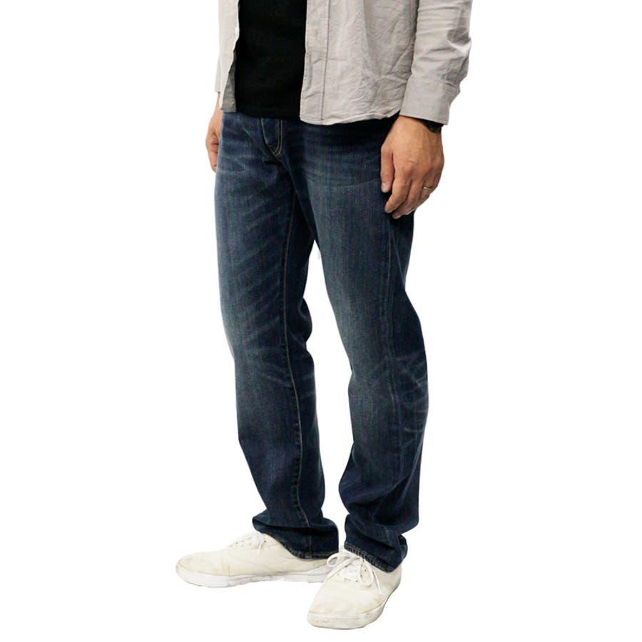 リーバイス メンズ ジーンズ デニム LEVIS 505 COOL MAX レギュラー フィット ジーパン パンツ ストレッチ |涼しい かっこいい おしゃれ ストレート オリジナル 脚長 伸縮 levis levi's Levis 00505-149500505-1496 00505-1517 3
