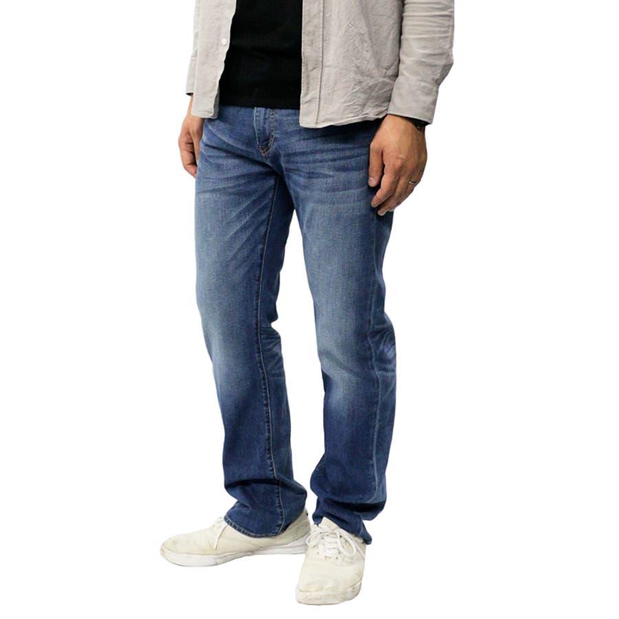 リーバイス メンズ ジーンズ デニム LEVIS 505 COOL MAX レギュラー フィット ジーパン パンツ ストレッチ |涼しい かっこいい おしゃれ ストレート オリジナル 脚長 伸縮 levis levi's Levis 00505-149500505-1496 00505-1517 6