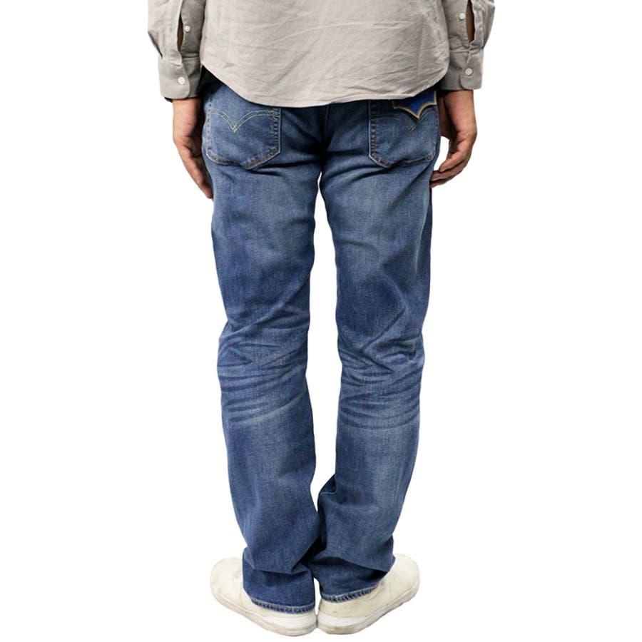 リーバイス メンズ ジーンズ デニム LEVIS 505 COOL MAX レギュラー フィット ジーパン パンツ ストレッチ |涼しい かっこいい おしゃれ ストレート オリジナル 脚長 伸縮 levis levi's Levis 00505-149500505-1496 00505-1517 7