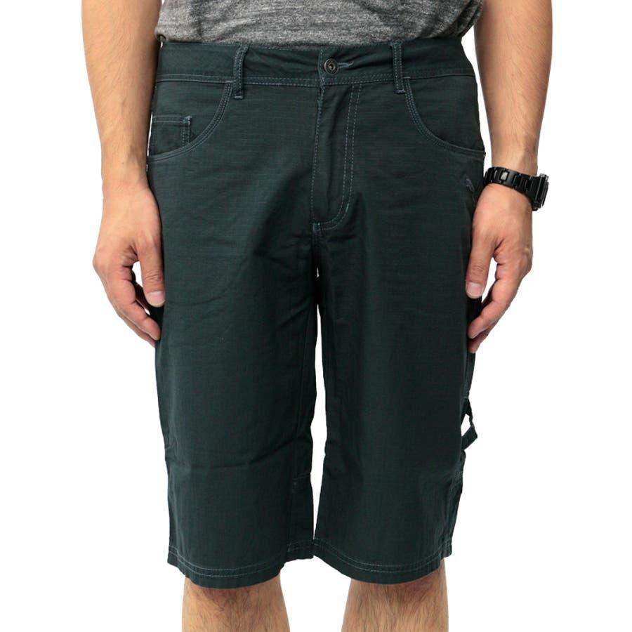 プーマ メンズ パンツ PUMA 558001 バミューダ パンツ | おしゃれ かっこいい 夏 ビーチ 4分丈 5分丈 綿 黒カーゴファスナー 登山 夏用 ネイビー 男性 丈夫 アウトドア レジャー トレーニング コットン 海 山 ストレート大きいサイズ サバイバルリップストップ 3