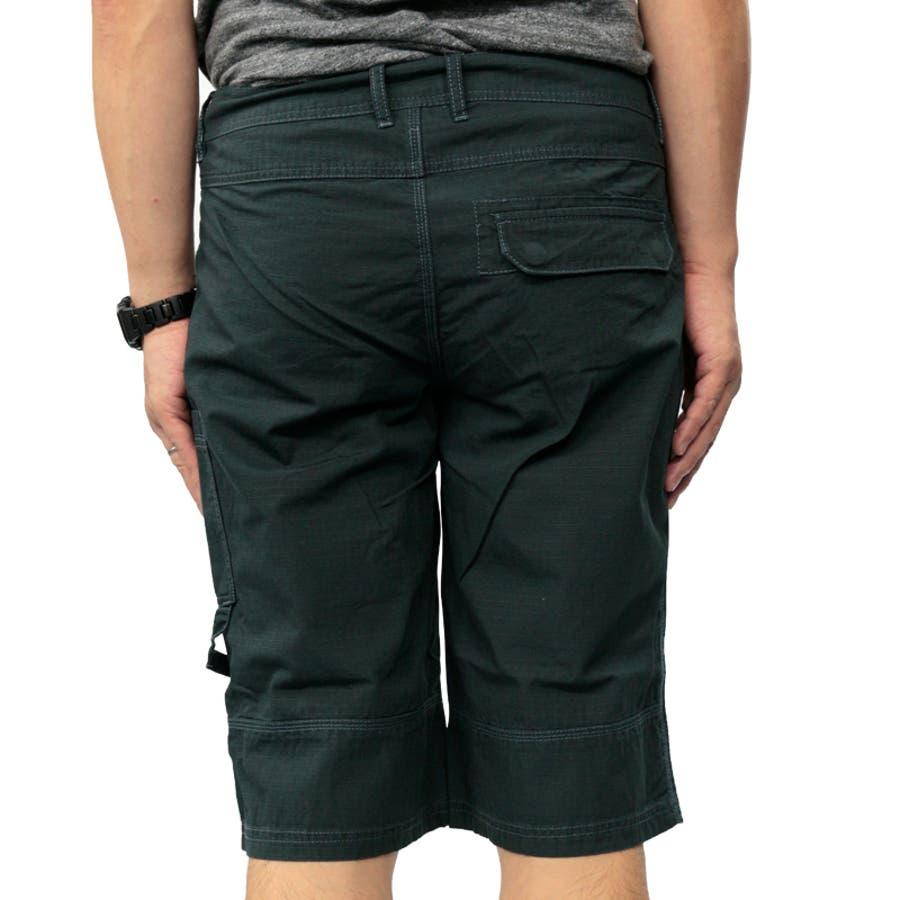 プーマ メンズ パンツ PUMA 558001 バミューダ パンツ | おしゃれ かっこいい 夏 ビーチ 4分丈 5分丈 綿 黒カーゴファスナー 登山 夏用 ネイビー 男性 丈夫 アウトドア レジャー トレーニング コットン 海 山 ストレート大きいサイズ サバイバルリップストップ 6