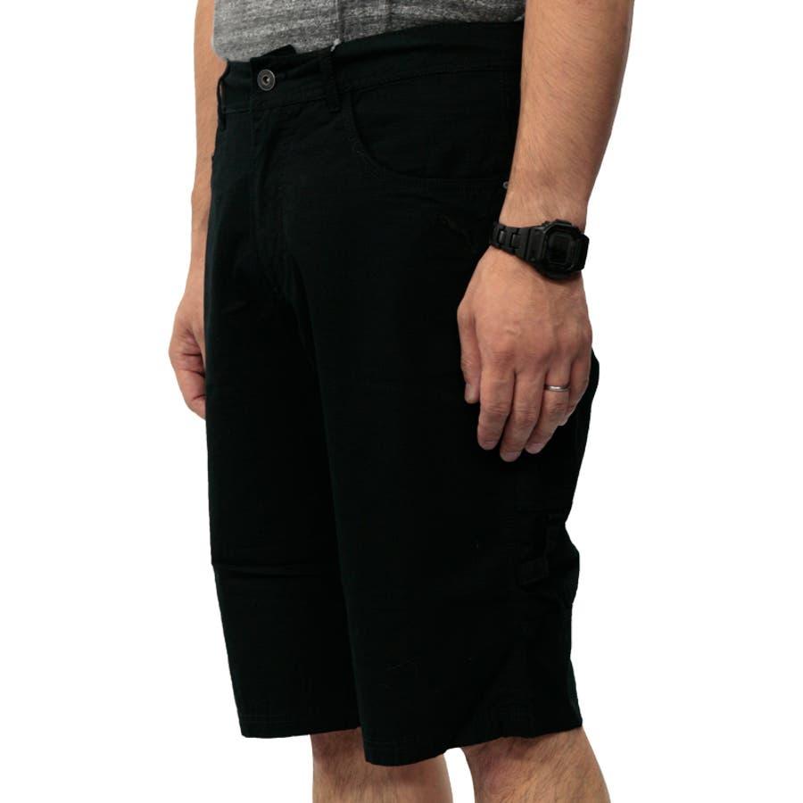 プーマ メンズ パンツ PUMA 558001 バミューダ パンツ | おしゃれ かっこいい 夏 ビーチ 4分丈 5分丈 綿 黒カーゴファスナー 登山 夏用 ネイビー 男性 丈夫 アウトドア レジャー トレーニング コットン 海 山 ストレート大きいサイズ サバイバルリップストップ 9