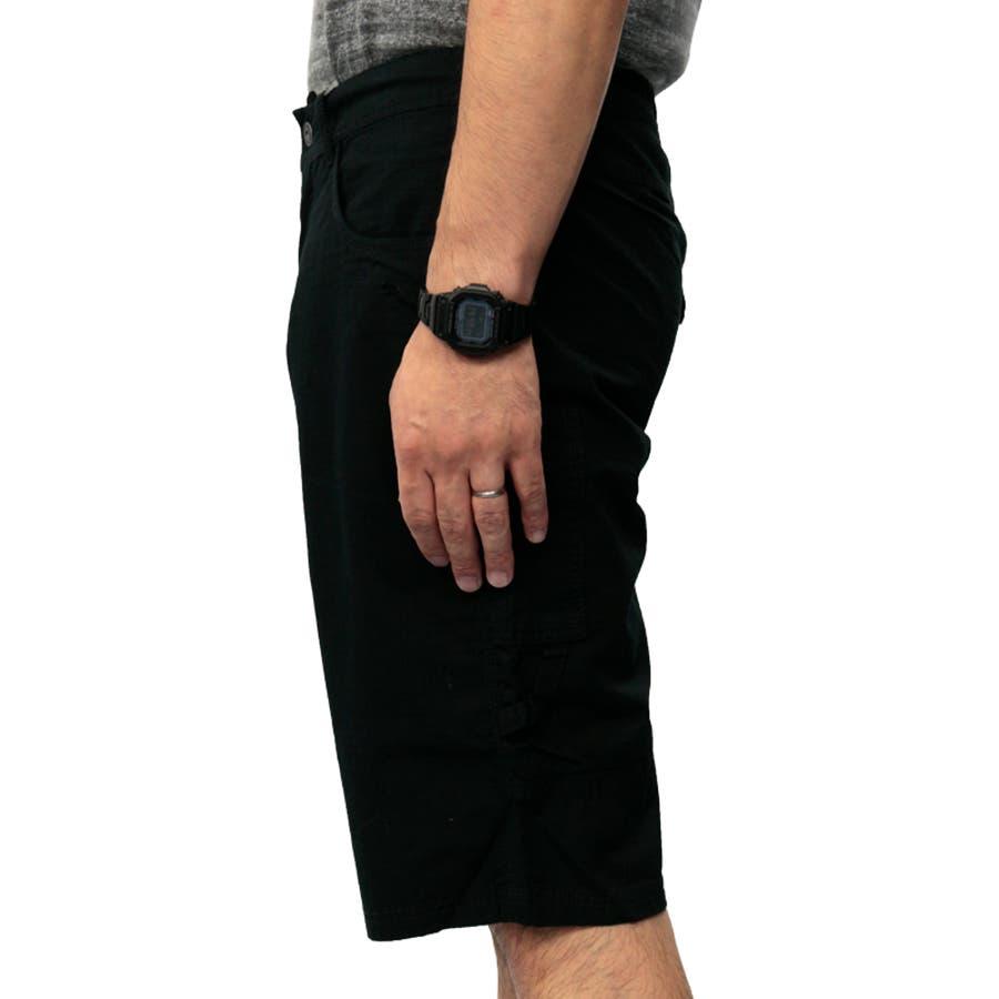 プーマ メンズ パンツ PUMA 558001 バミューダ パンツ | おしゃれ かっこいい 夏 ビーチ 4分丈 5分丈 綿 黒カーゴファスナー 登山 夏用 ネイビー 男性 丈夫 アウトドア レジャー トレーニング コットン 海 山 ストレート大きいサイズ サバイバルリップストップ 10