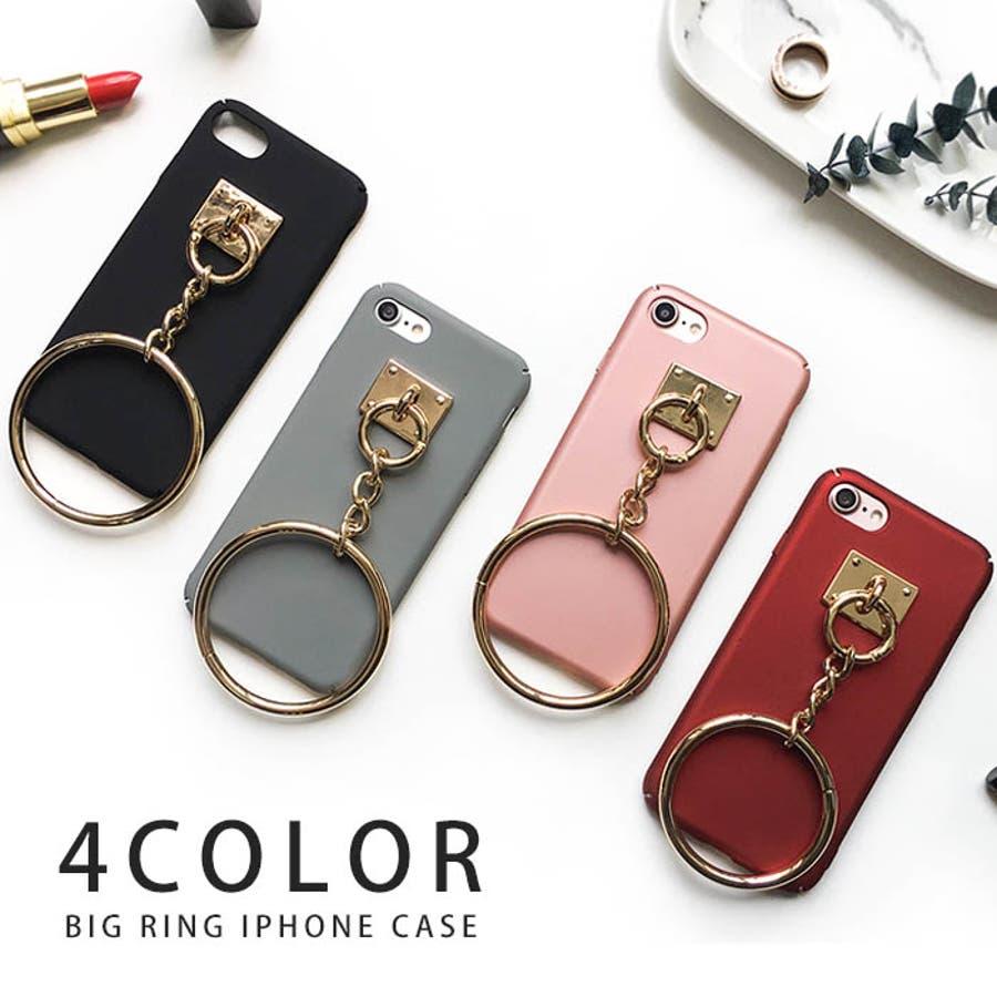 iphone7 iphone6s iphone6 ビッグリング ストラップ スマホケース アイフォンケース スマートフォンケーススマホケース 携帯  パロディ ブランド