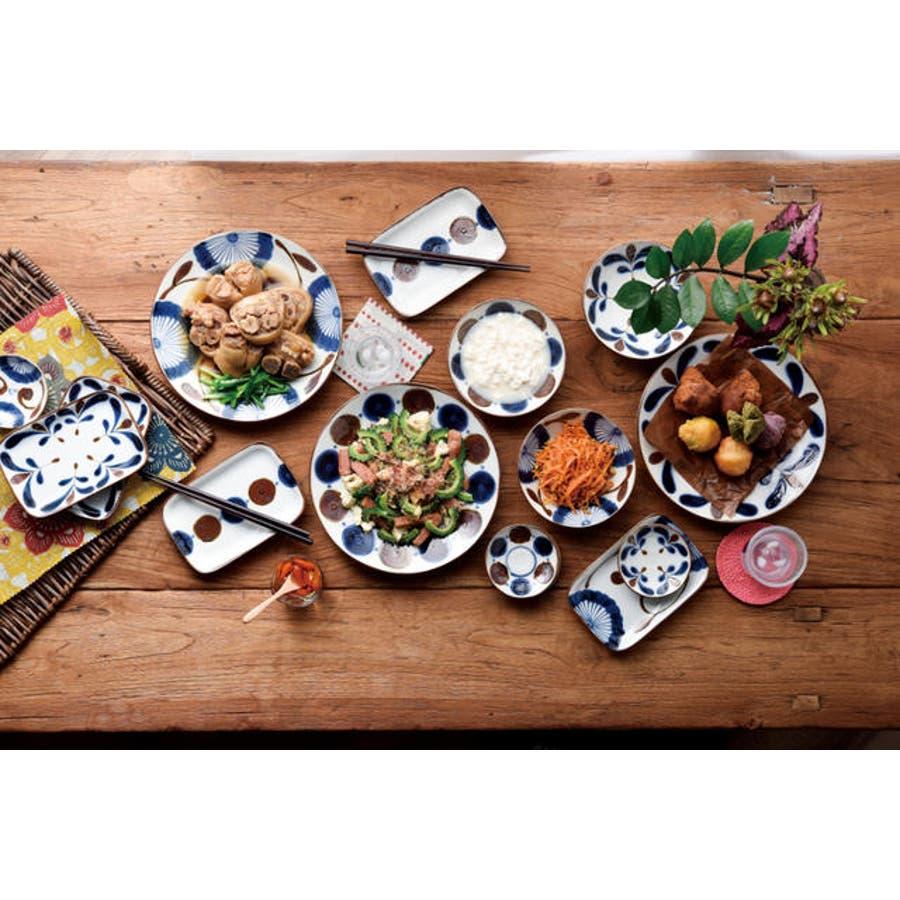 【日本製/美濃焼】南風 ペア料理揃 大皿2枚 小鉢2個 2