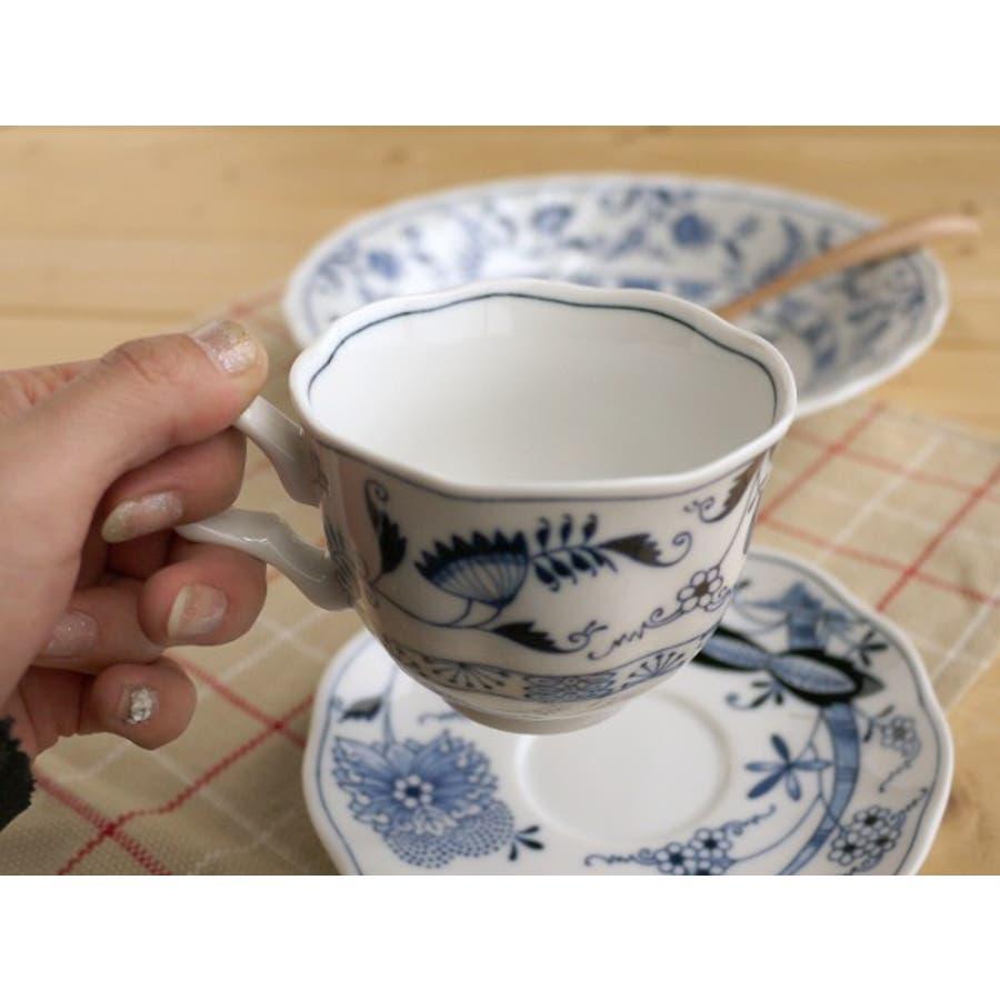 【日本製/美濃焼】エルベカップ&ソーサー 2