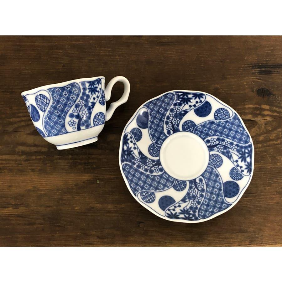 【日本製/美濃焼】丸紋松竹梅 一客碗皿 2
