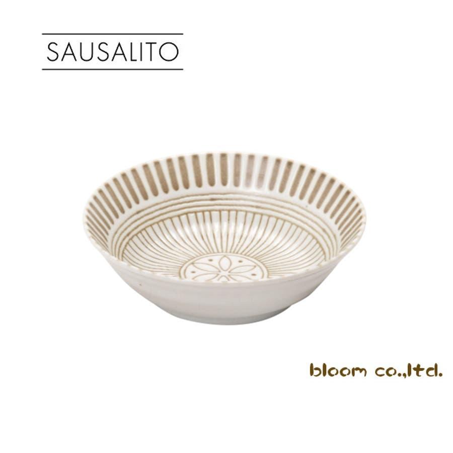 【日本製/美濃焼】サウサリート 小鉢 白 径13.5x高4cm 1