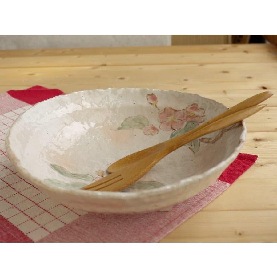 【日本製/美濃焼】御本手木の実 大鉢 径25x高6.5cm 1