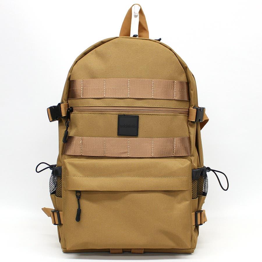 addninth バックパック 背ポケ付リュック ユニセックス 3カラー 44×28×15 ys190554 3