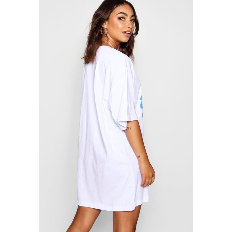 36842ef1d20 Graffiti Dream Oversized T Shirt Dress 品番:BHOW0040191 |boohoo ...