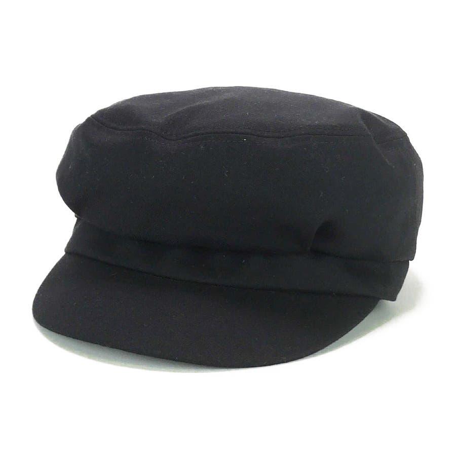 <秋冬新作>バックリボンマリンキャスケット ヤング 帽子 21