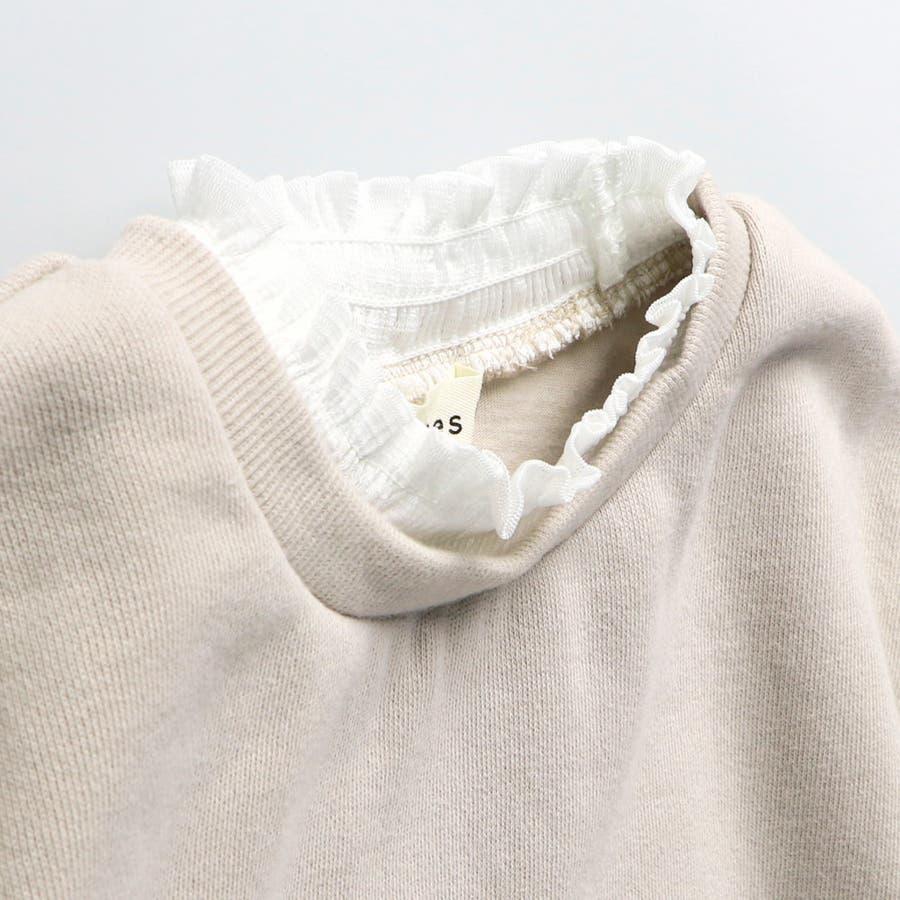 裾チュール裏起毛トレーナー 3