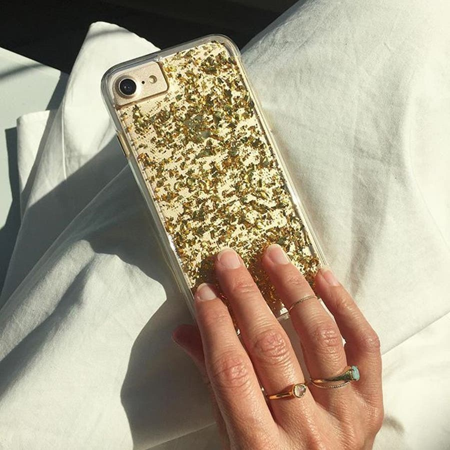 iPhone SE(第2世代)/8/7/6s/6対応ケース Karat Gold 4