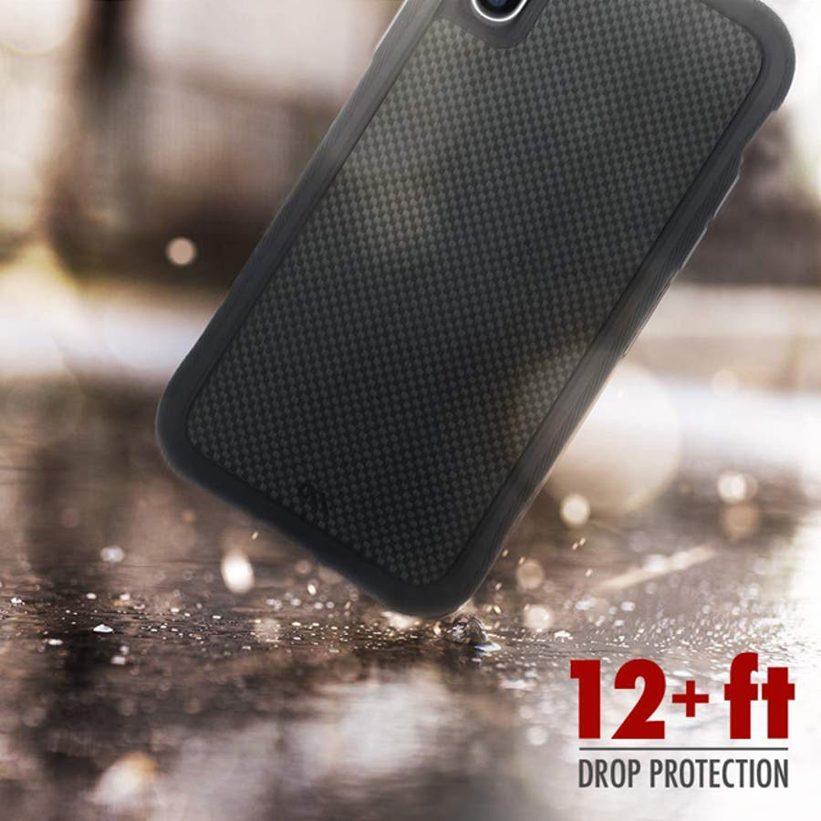 iPhoneXS/X対応ケース Protection Collection Carbon Fiber 3