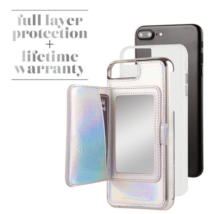 iPhone8 Plus / 7 Plus / 6s Plus / 6 Plus対応ケース Compact Mirror CaseIridescent 1