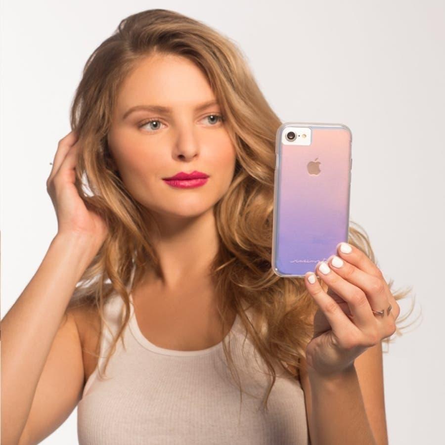 iPhoneXR対応ケース Tough-Iridescent 1