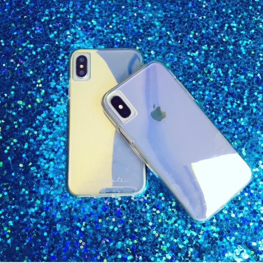 iPhoneXR対応ケース Tough-Iridescent 10