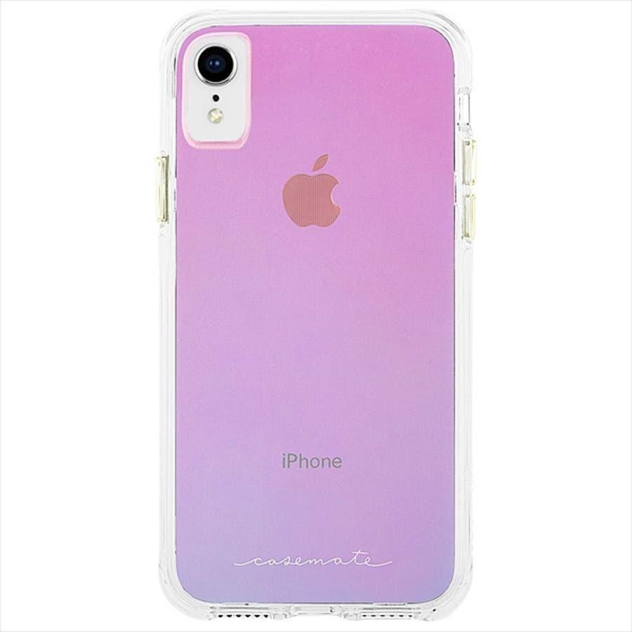 iPhoneXR対応ケース Tough-Iridescent 2