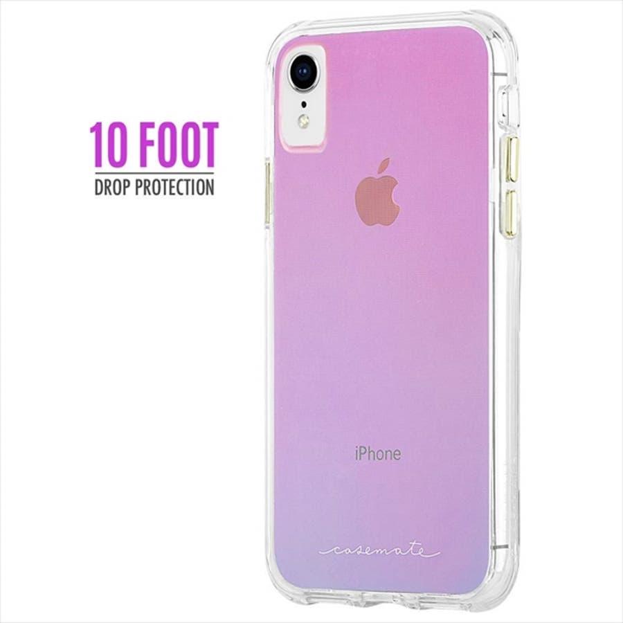 iPhoneXR対応ケース Tough-Iridescent 4