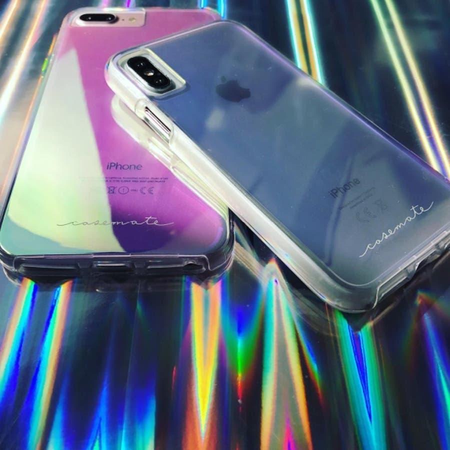 iPhoneXR対応ケース Tough-Iridescent 9