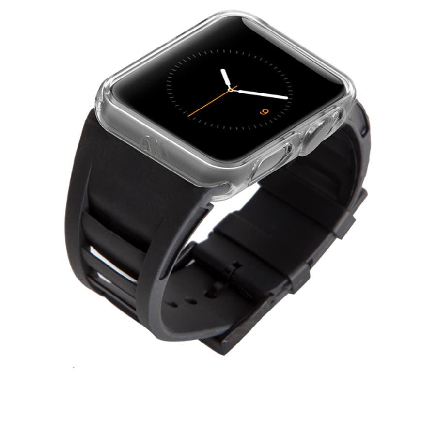 【アップル ウォッチ 42mm用バンパー】 Apple Watch Tough Naked Bumper 3