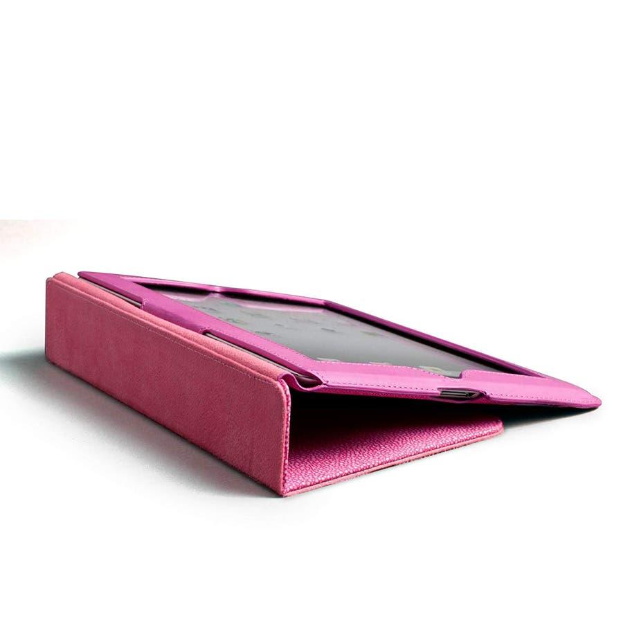 iPad 2〜4世代 対応ケース Slim Stand Stingray, Lipstick Pink 4