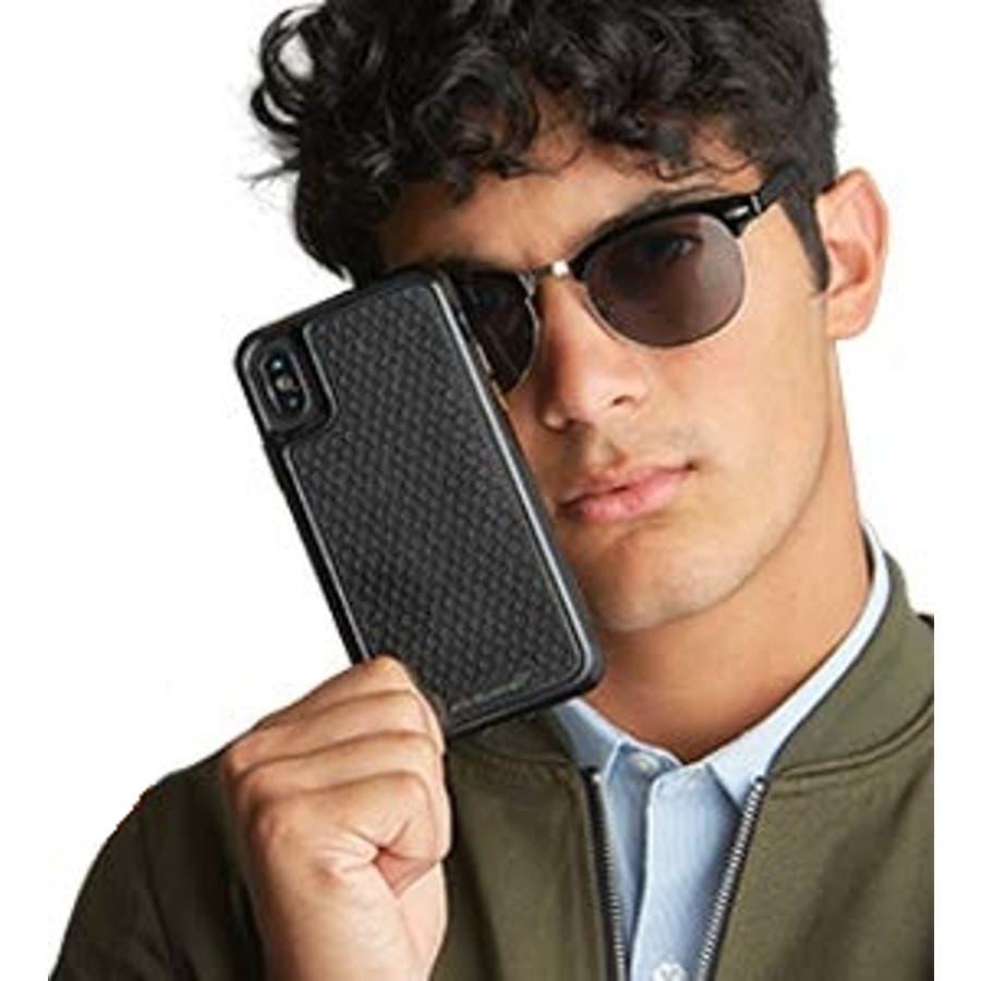 iPhoneXR対応ケース McLaren-Black 1