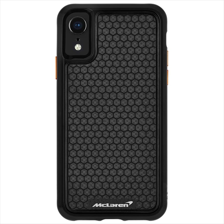 iPhoneXR対応ケース McLaren-Black 2