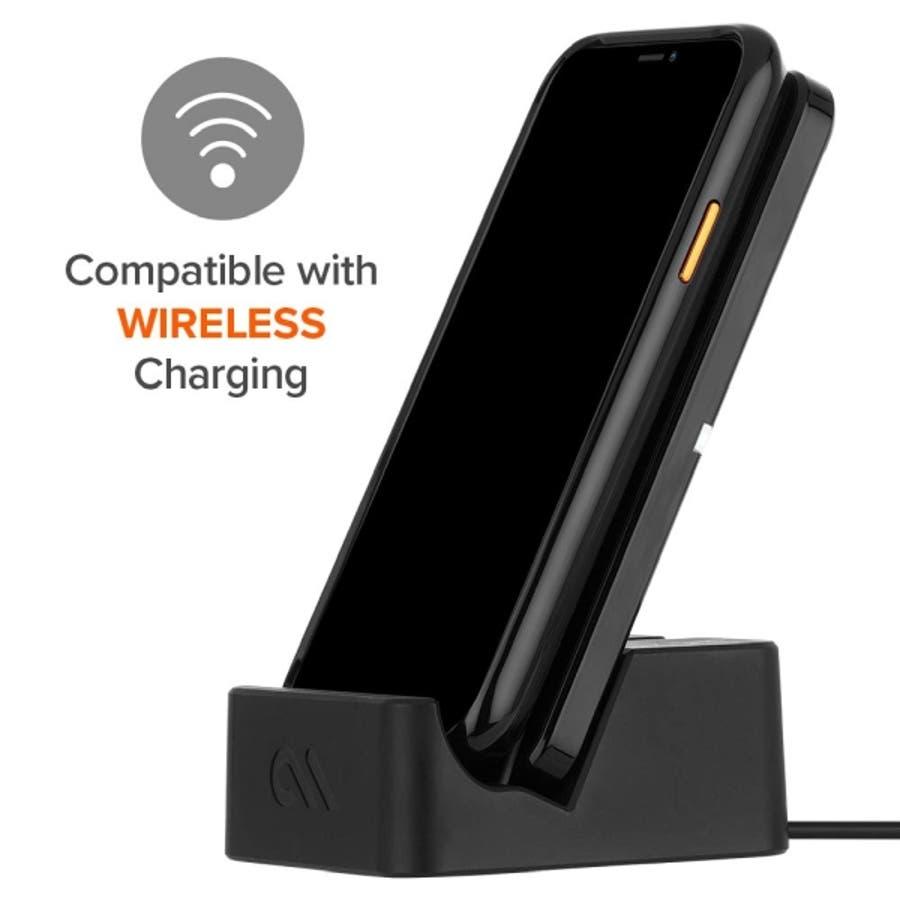 iPhoneXR対応ケース McLaren-Black 5