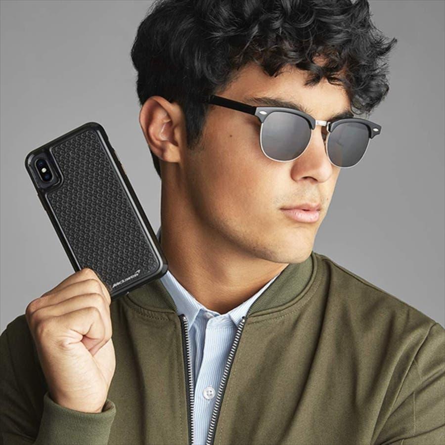 iPhoneXR対応ケース McLaren-Black 6