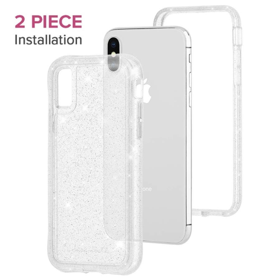 iPhoneXS Max対応ケース Protection Collection SheerCrystalClear 8