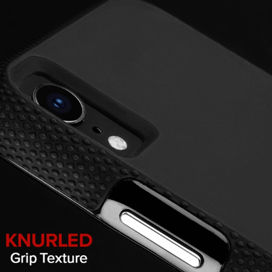 iPhoneXR対応ケース Tough Grip-Black 2
