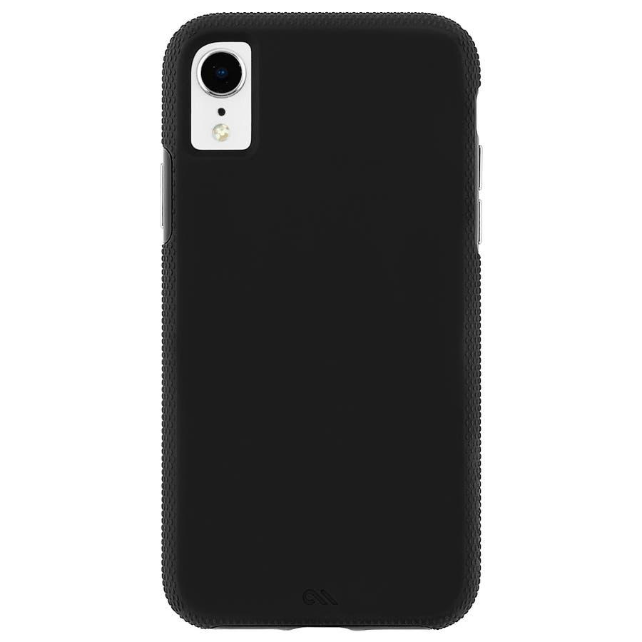 iPhoneXR対応ケース Tough Grip-Black 3