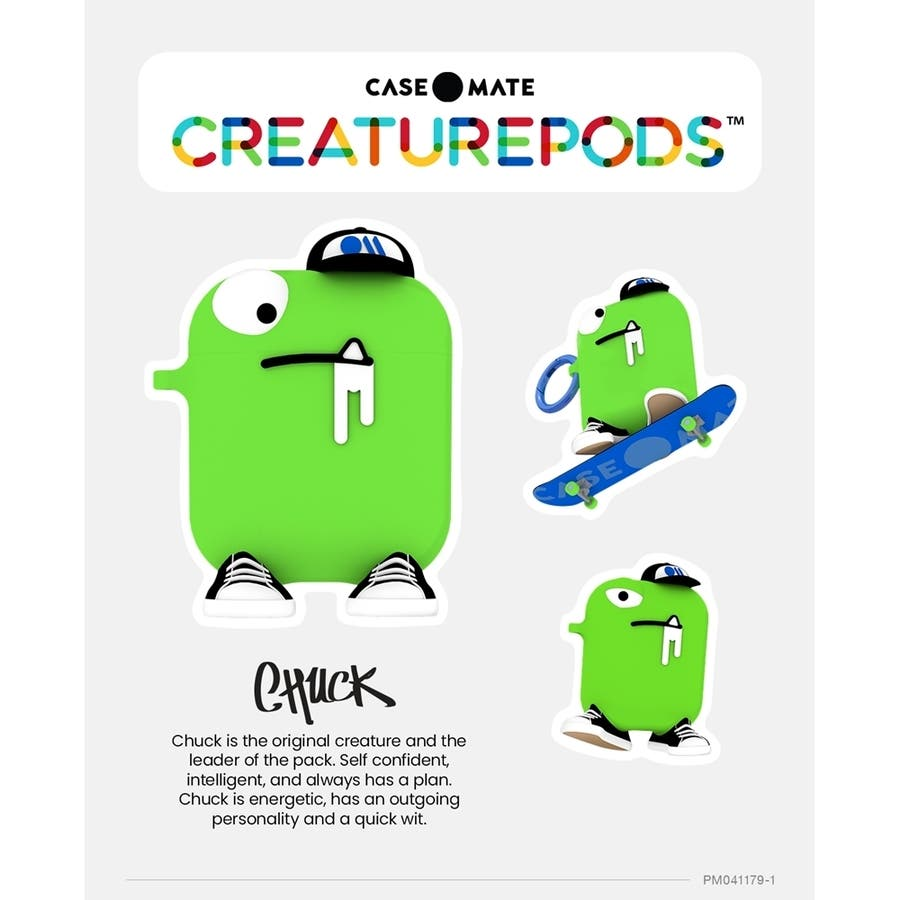 AirPods Case CreaturePods - CHUCK 9