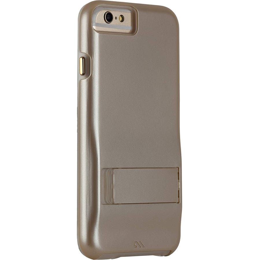 iPhone6s Plus/6 Plus 対応ケース Hybrid Tough Stand Case, Gold/Clear 2