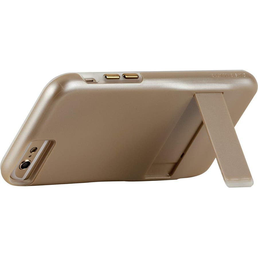 iPhone6s Plus/6 Plus 対応ケース Hybrid Tough Stand Case, Gold/Clear 3