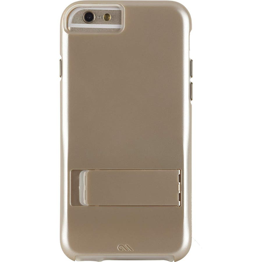 iPhone6s Plus/6 Plus 対応ケース Hybrid Tough Stand Case, Gold/Clear 4