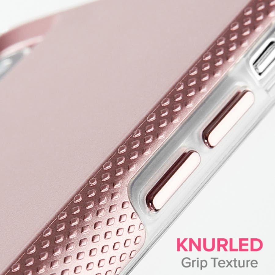 iPhoneXR対応ケース Tough Grip-Metallic Blush 2