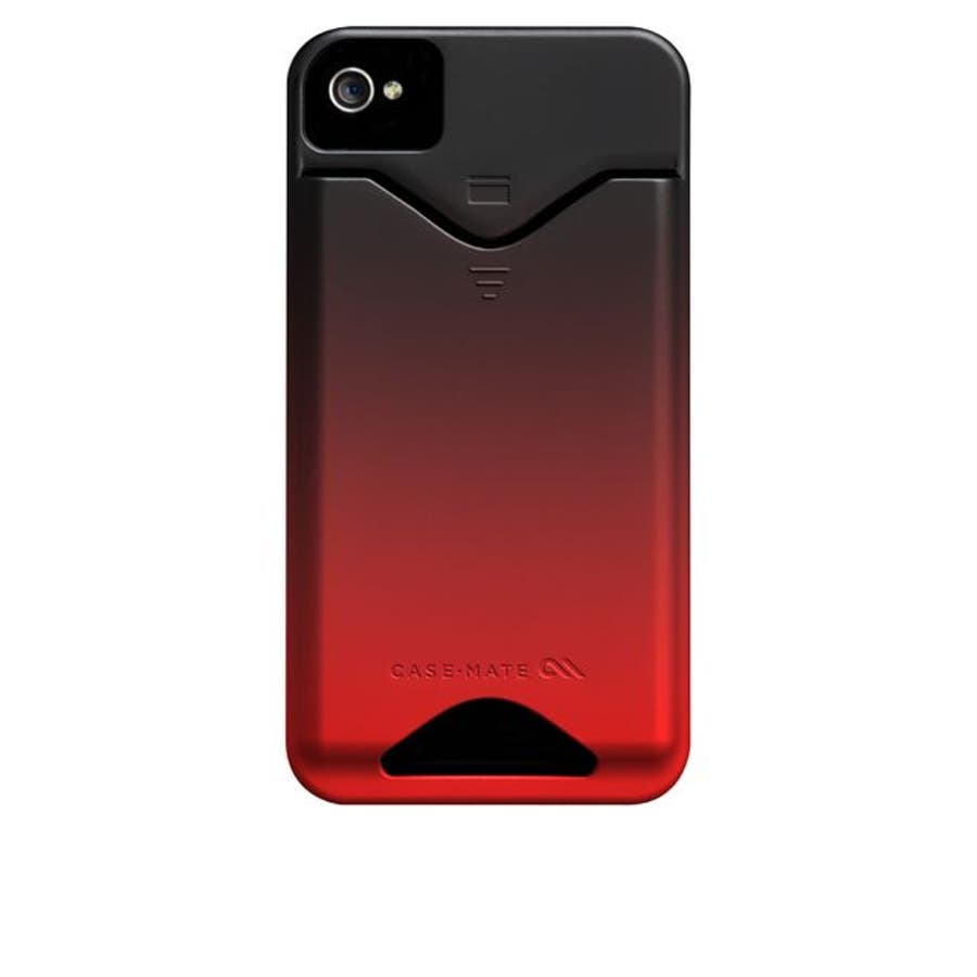 iPhone 4S/4 対応ケース ID Case, Matte Royal Red 4