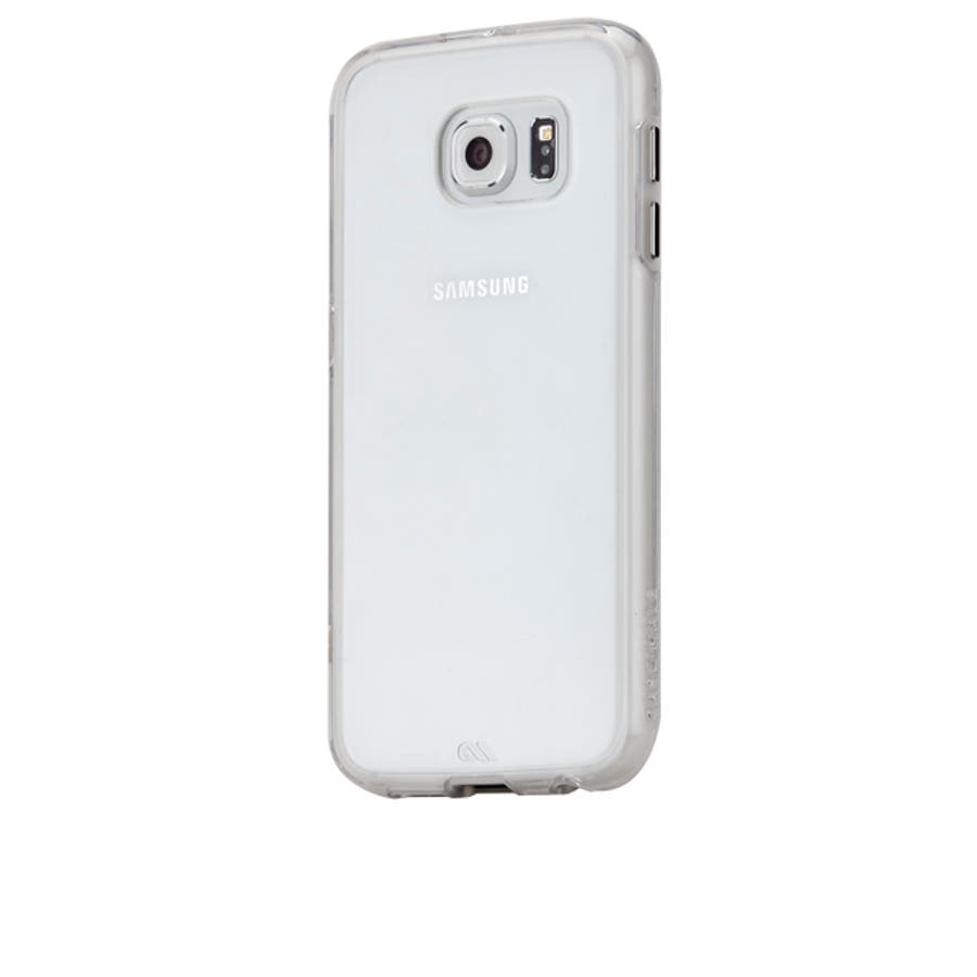 Galaxy S6 対応ケース Hybrid Naked Tough Case, Clear / Clear 3