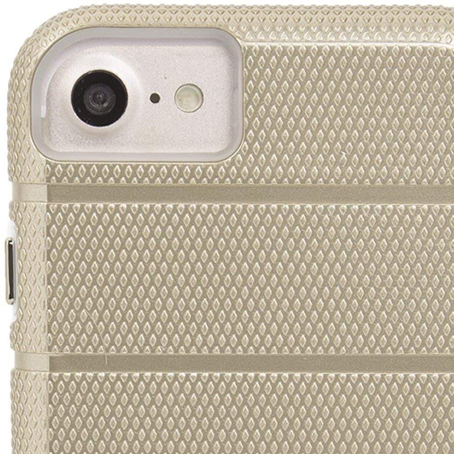 iPhone SE(第2世代) / iPhone8 対応 Tough Mag Case-Gold / Clear 3