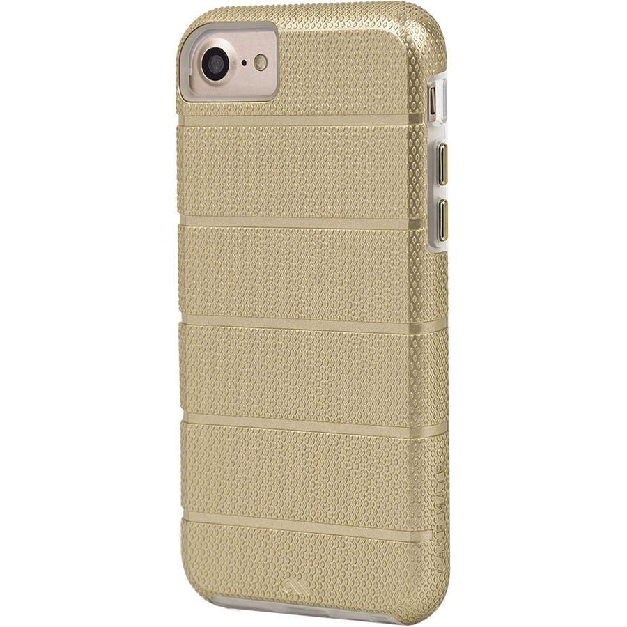 iPhone SE(第2世代) / iPhone8 対応 Tough Mag Case-Gold / Clear 4