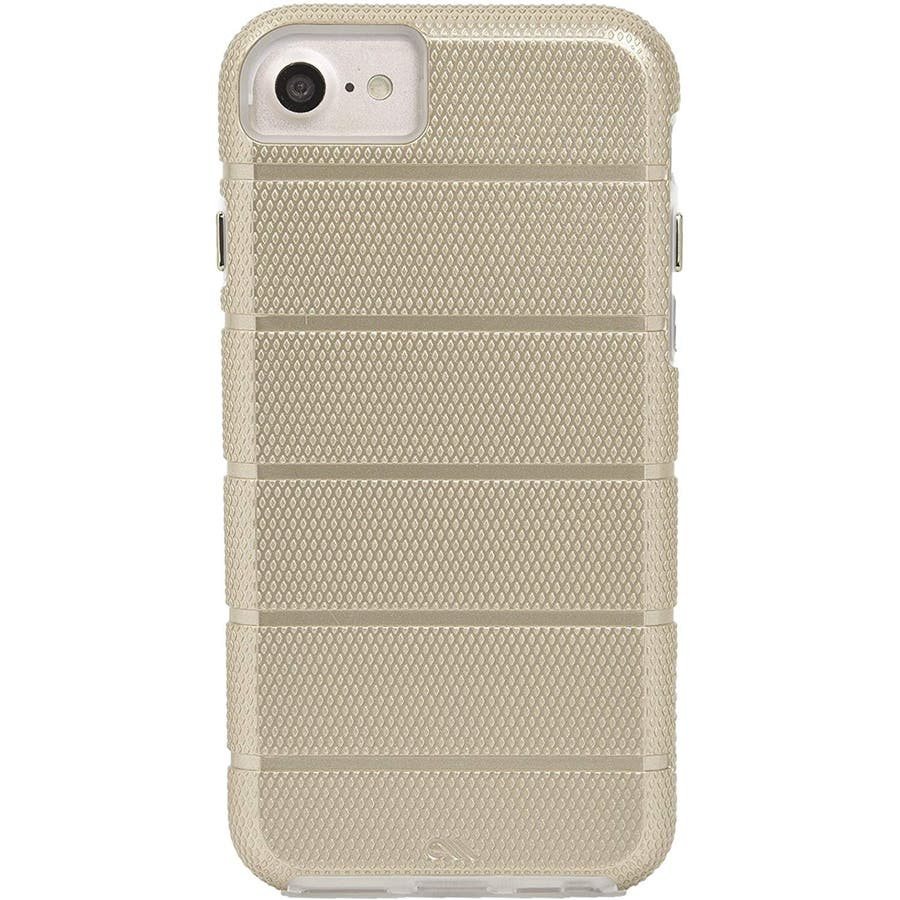 iPhone SE(第2世代) / iPhone8 対応 Tough Mag Case-Gold / Clear 6