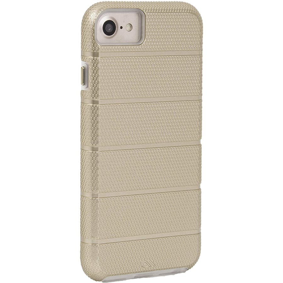 iPhone SE(第2世代) / iPhone8 対応 Tough Mag Case-Gold / Clear 7
