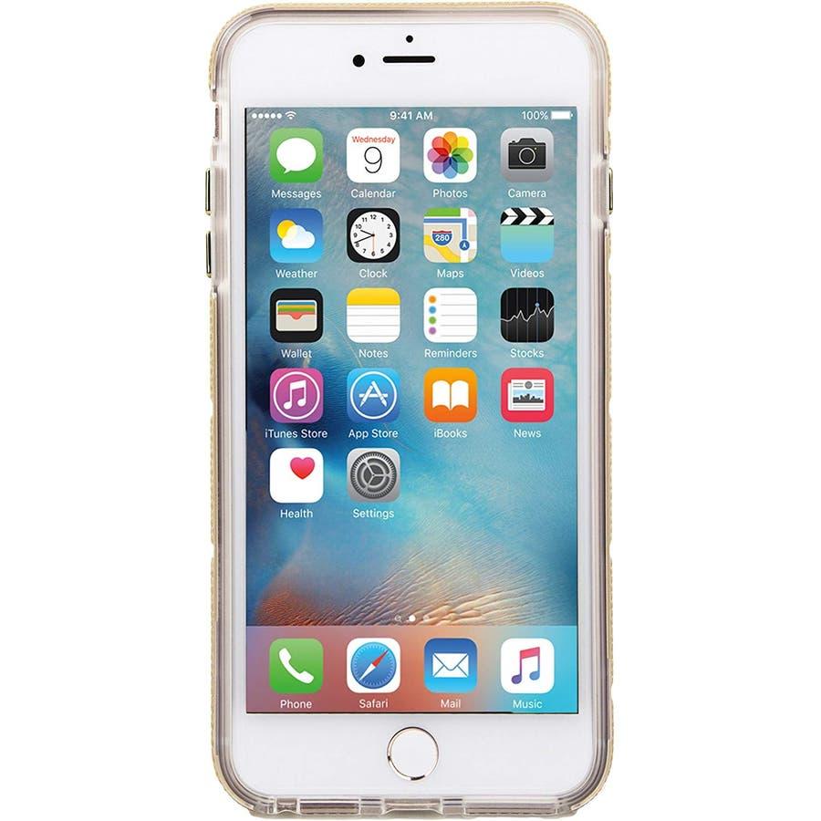 iPhone SE(第2世代) / iPhone8 対応 Tough Mag Case-Gold / Clear 8