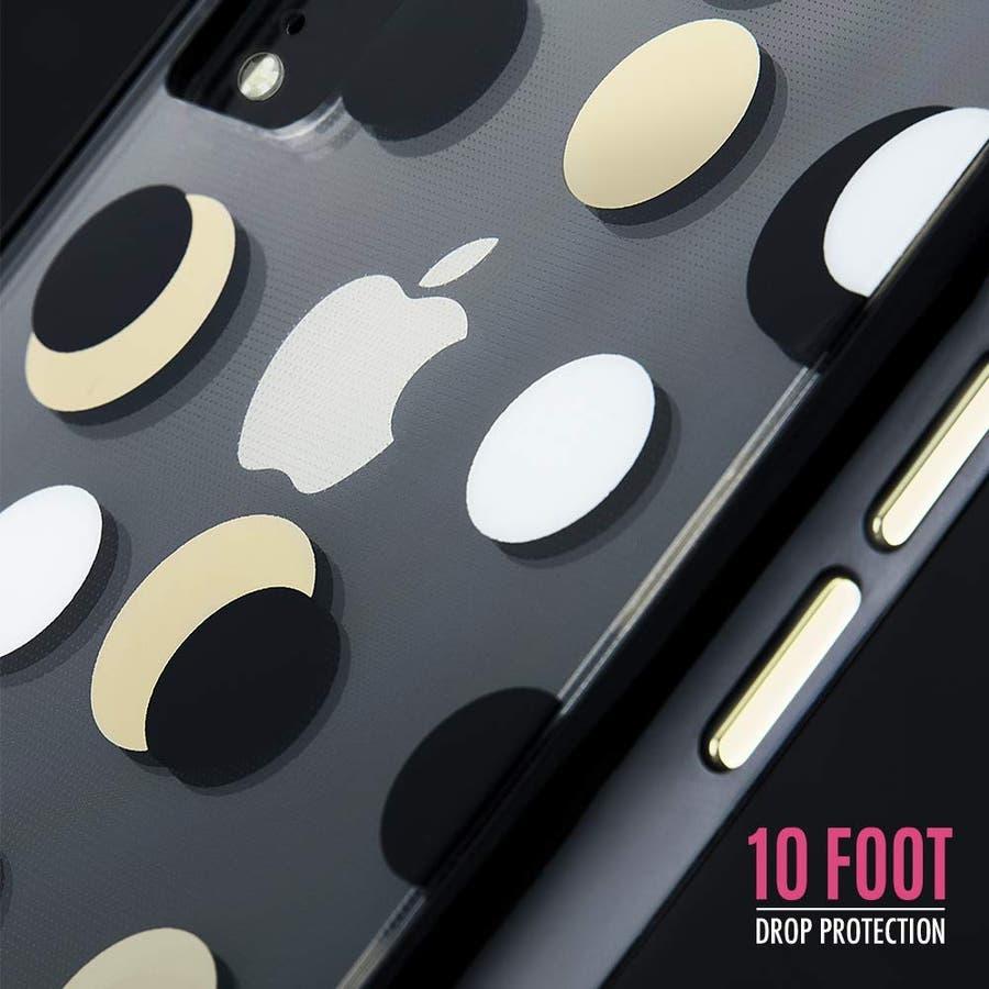 iPhoneXR対応ケース Wallpapers-Metallic Dot 1