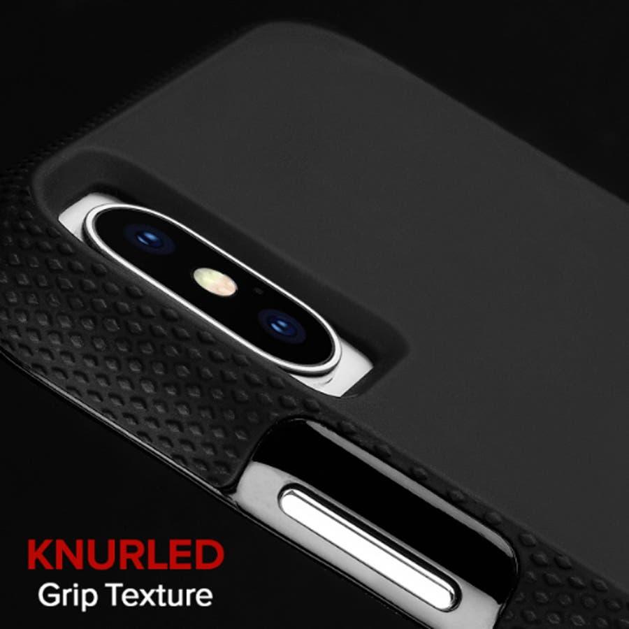 iPhoneXS Max対応ケース Tough Grip-Black 4