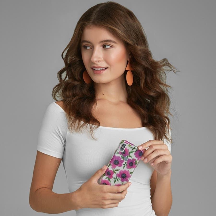iPhoneXR対応ケース Wallpapers-Pink Poppy 1